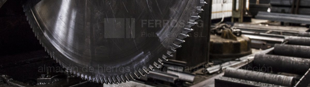 Cutting steel and iron as iron warehouse Ferros in PG