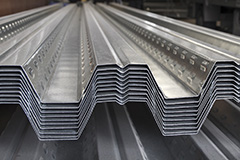 Cold rolled sections and metalwork